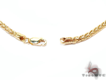 Yellow Gold Chain 16 Inches 3mm 8.9 Grams Gold