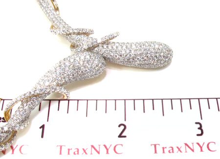 Yellow Gold Diamond Illusion Necklace 20532 Diamond