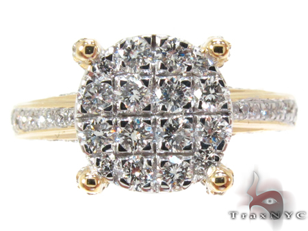Prong Diamond Engagement Ring Engagement