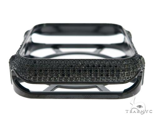iPhone Diamond Watch Case Black 45627 Watch Accessories