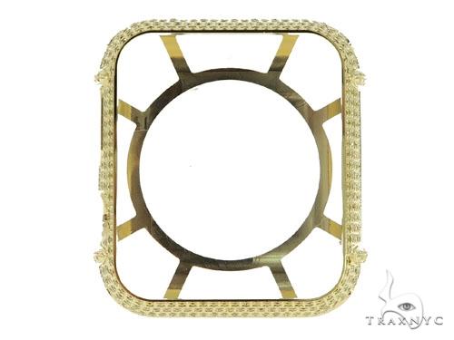 iPhone Diamond Watch Case Yellow 45626 Watch Accessories