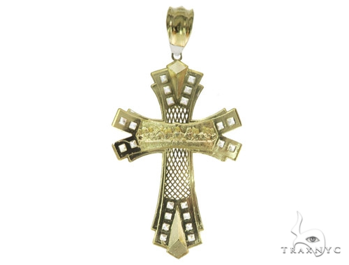 Last Supper Gold  Cross 49467 Gold