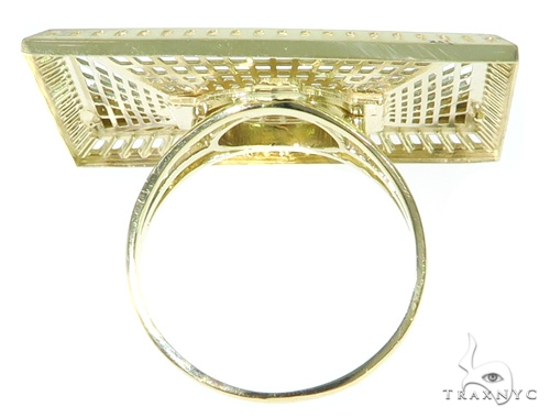 last Supper Gold Ring 45464 Metal