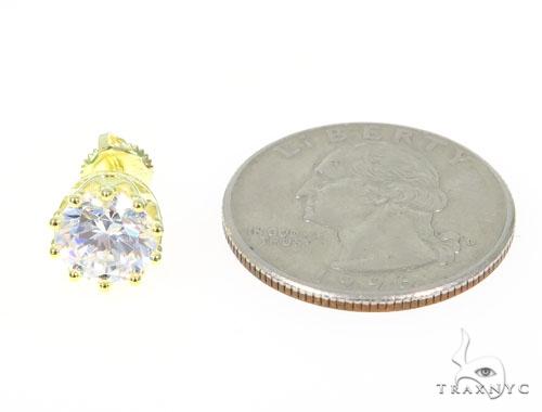 Silver Earrings 45028 Metal