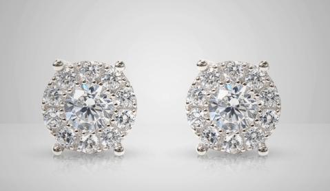 Silver Earrings For Men Traxnyc
