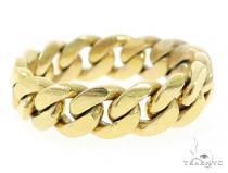 10k Gold 8.5mm Miami Cuban Link Ring 49611