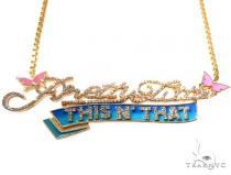 Custom Made Diamond Pendant Necklace Diamond