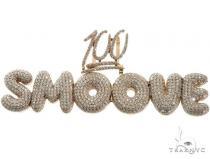 Custom Made Diamond Smoove Pendant 64728 Metal