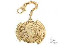 Custom Diamond Keychain Pendant 64798 Metal