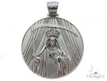 Special Custom Medallion Coin Centario Pendant with Engraving 65241 Metal