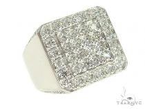 14K White Gold Diamond TraxNYC Ring 66093 Stone